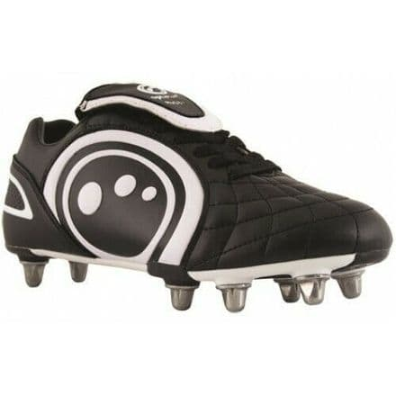"OPTIMUM RUGBY BOOTS ""INFERNO II"" BLACK/RED"
