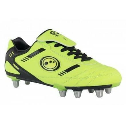 "OPTIMUM RUGBY BOOTS ""TRIBAL"" FLUO-YELLOW"