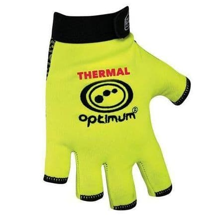 "OPTIMUM RUGBY ""STIK MITTS"" THERMAL FLUO YELLOW"