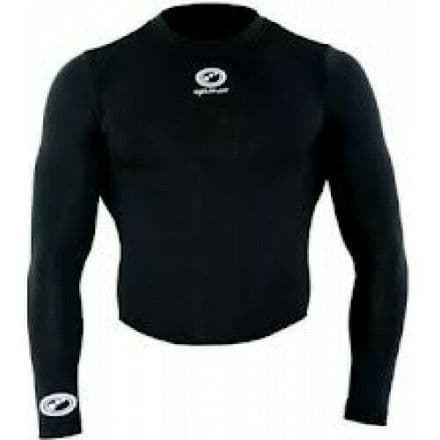 "OPTIMUM ""THINSKINS"" LONG SLEEVE TOP BLACK"