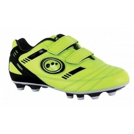OPTIMUM TRIBAL FOOTBALL BOOTS P.U. MOULDED FLUO-YELLOW