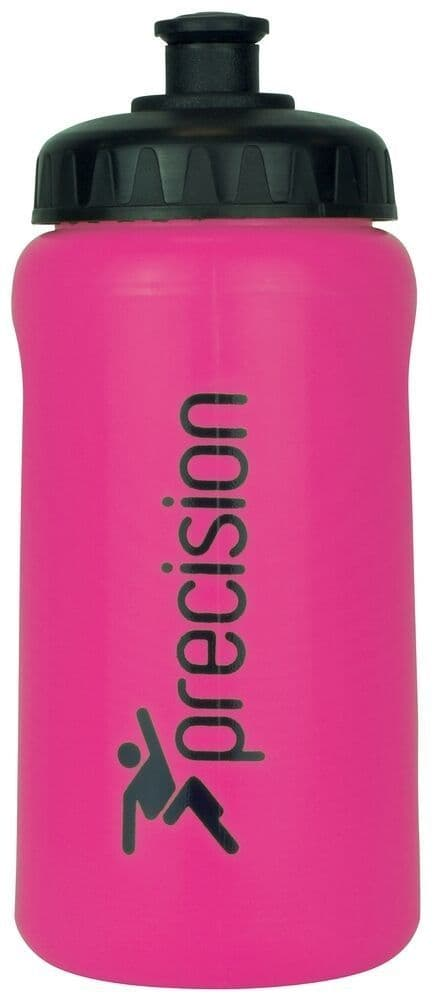 Precision 500ml Water Bottle -Pink Training Gym Football Hockey Team
