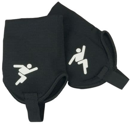 Precision Ankle Protectors (Black) Football training soccer