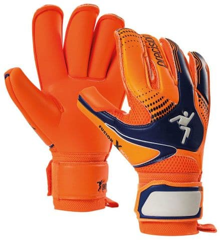 Precision Fusion-X Flash Roll Junior GK Gloves Football Keeper soccer