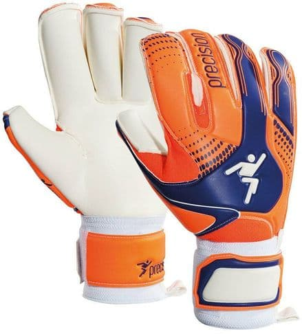 Precision Fusion-X Roll GK Gloves - Junior Football Keeper soccer