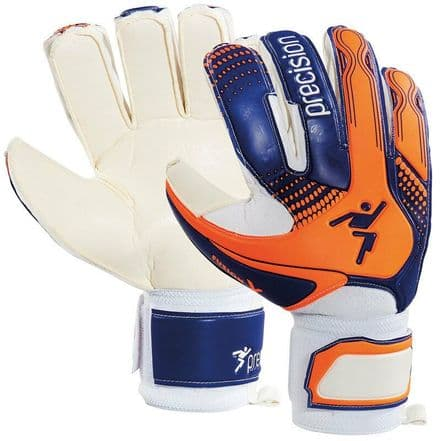 Precision Fusion-X Trainer GK Gloves - Junior Football Keeper soccer