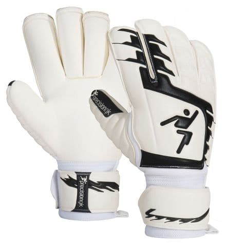Precision Junior Classic Giga Black Rollfinger GK Gloves Football soccer