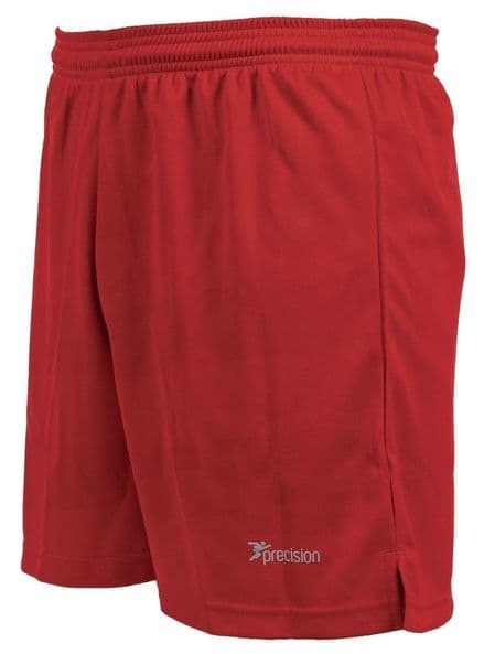 Precision Madrid Shorts - Red Football  Soccer