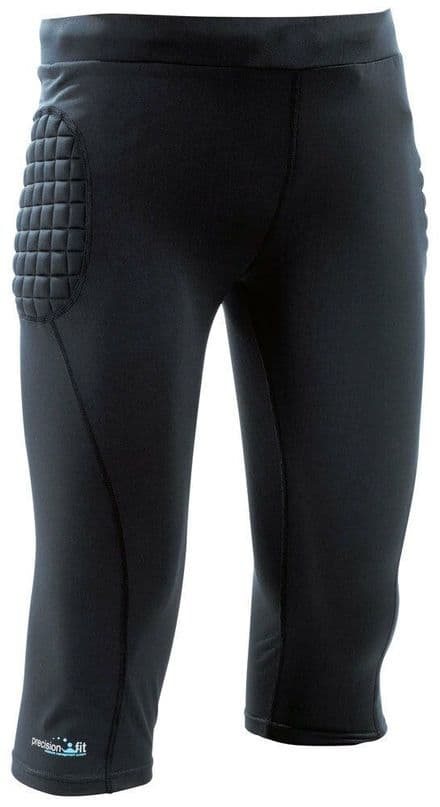 Precision Padded Base-Layer G.K. 3/4 Pants Senior Football  Soccer