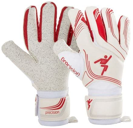 Precision Premier White Shadow GK Gloves Football Keeper soccer