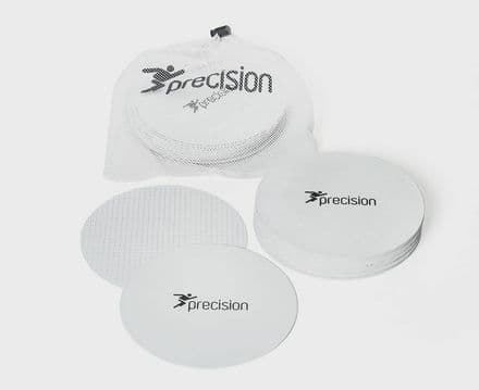 Precision Pro Large Round Rubber Marker Discs soccer TRAINING FOOTBALL