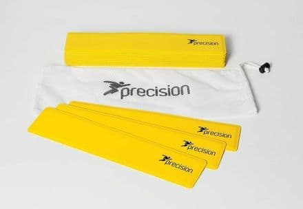 Precision Pro Rectangular Shaped Rubber Markers soccer TRAINING FOOTBALL