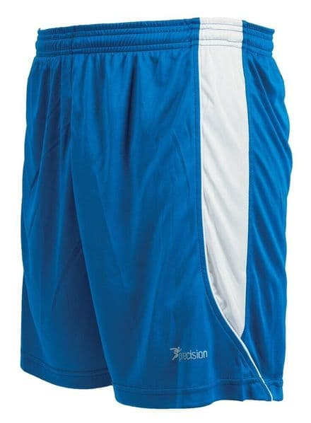 Precision Real Shorts - Royal/White Football  Soccer