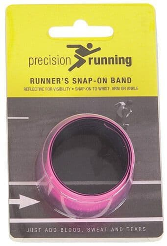 Precision Running Snap Band Band - Fluo Pink Training Gym