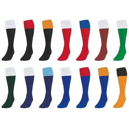 Precision Training Contrast Turnover Tops Football Socks SOCCER