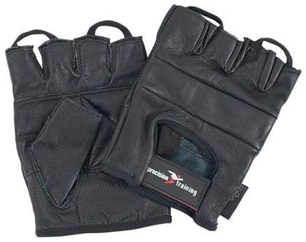 Precision Training Leather Weightlifting Gloves Gloves Body Building