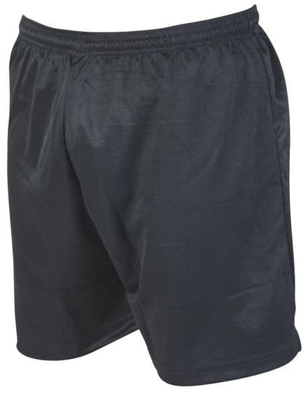 Precision Training Micro-stripe Football Shorts - Black Football  Soccer