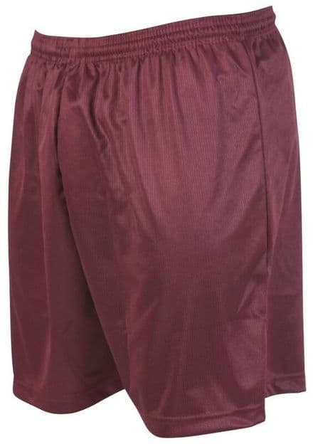 Precision Training Micro-stripe Football Shorts - Maroon Football  Soccer