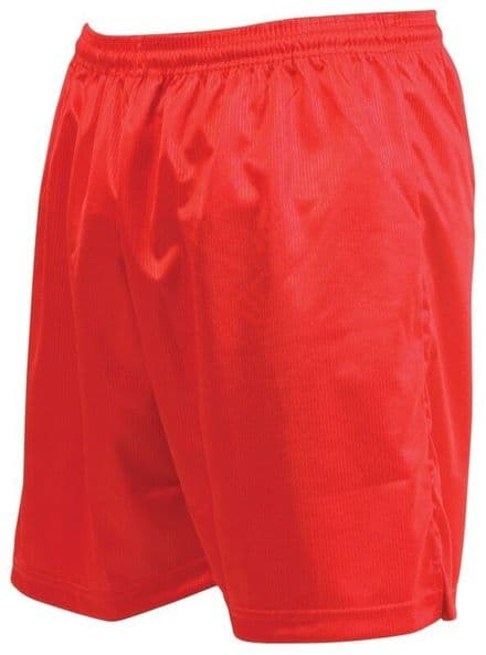 Precision Training Micro-stripe Football Shorts - Red Football  Soccer
