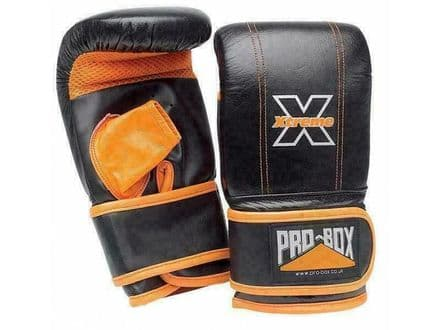 Pro Box Bag Mitts Xtreme Collection Boxing Training Gloves PU