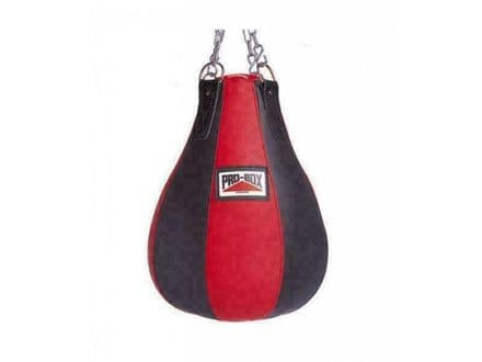 Pro Box Boxing Bag Heavy Maize Red Collection Gym Training