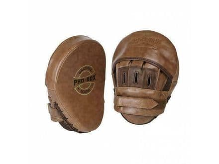 Pro Box Boxing Focus Mitts Original Collection Leather hook and Jab Pads