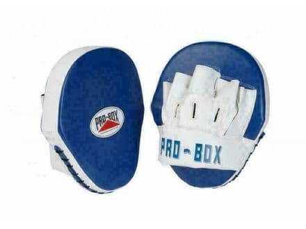 Pro Box Boxing Focus Mitts Speed Pads PU Club Essential - Blue