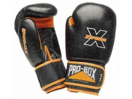 Pro Box Boxing Gloves Xtreme Collection PU Sparring Training - Senior