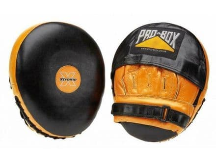 Pro Box Focus Pads - Xtreme Collection Leather Air Boxing Focus Mitts