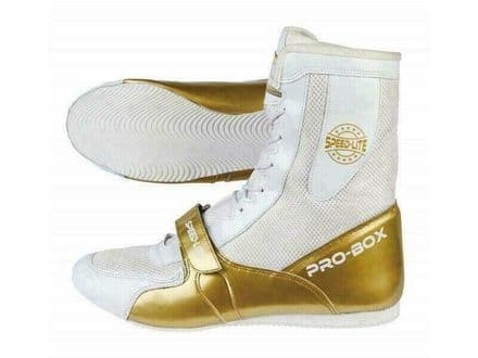 Pro Box Kids Boxing Boots Speed Lite Shoes - White