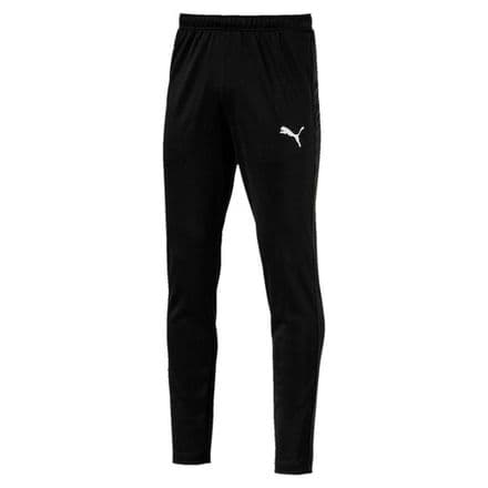 Puma Mens Football Training Pants Joggers - Black