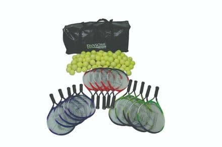 Ransome Primary Tennis Racket & Ball Bag