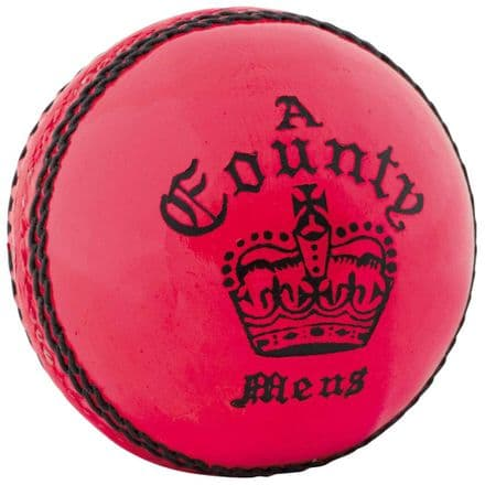 Readers County Crown Cricket ball - Pink