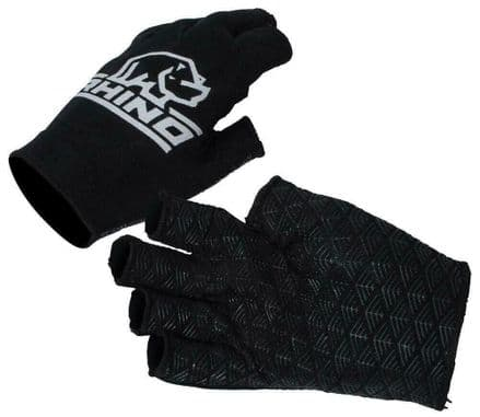 Rhino Gloves Official Pro Half Finger Mitts - Kids & Adult