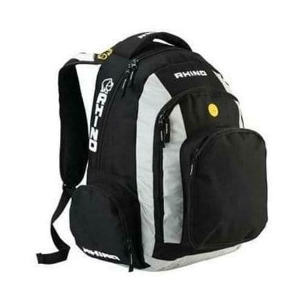 Rhino Rugby Backpack Official Adjustable Padded Rucksack Bag
