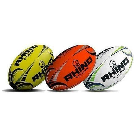 Rhino Rugby Ball Official Cyclone - Training