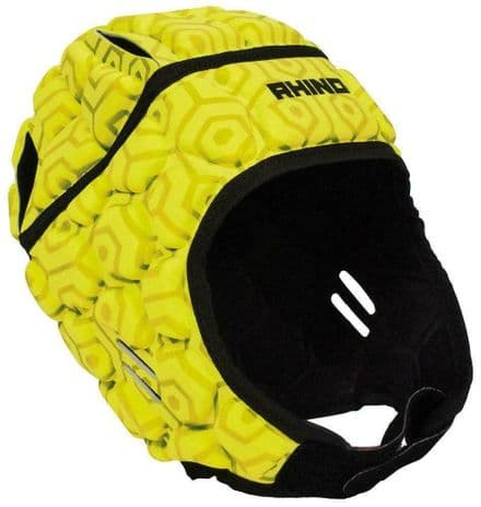 Rhino Rugby Head Guard Official Adult Pro - Yellow
