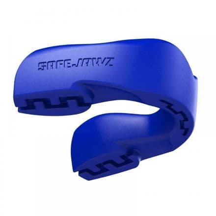 Safejawz Intro Series Self-Fit Blue Mouthguard
