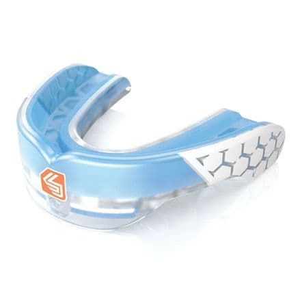 Shock Doctor Gel Max Power - Trans Blue Mouth Guard Gum Shield
