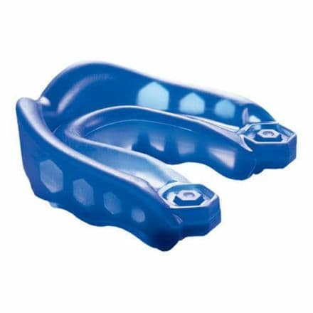 Shock Doctor v2 Gel Max Mouth Guard Mouthguard Gum Shield Blue