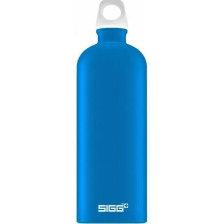 Sigg Water Bottle Lucid, Electric Blue, 1 Ltr