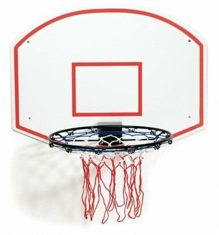Slam Dunk Plain Ring and Backboard Set
