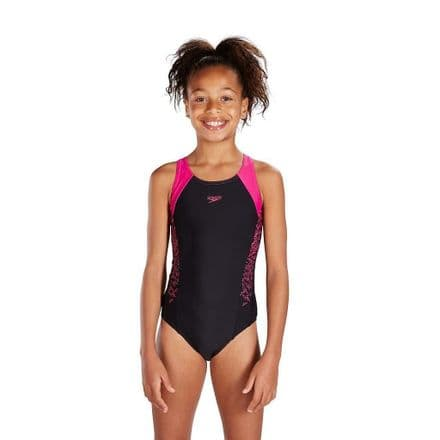 Speedo Boom Splice Muscleback Swimsuit Junior / Teen - Swimming