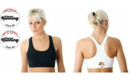 SPORTJOCK ACTION SPORTS BRA - BLACK WHITE