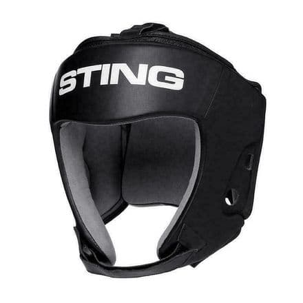 Sting Boxing Head Guard Orion Gel Open Face