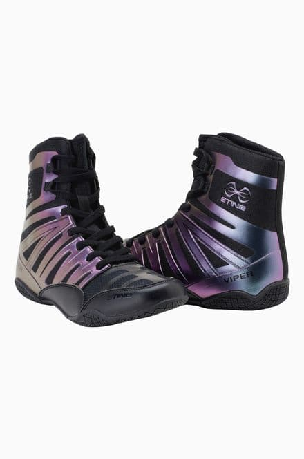 Sting Viper Boxing Boots Black Hyper Pro Sparring