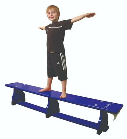 Sure Shot 1.8m (6ft) Coloured Bench - Blue - Yoga Gymnastics Aerobics