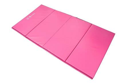 Sure Shot 25mm Foldable Double Mat - Pink - Gym, Fitness, Yoga, Aerobics