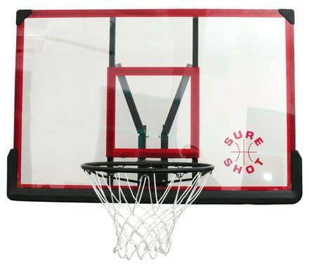 Sure Shot Acrylic Basketball Backboard & Ring