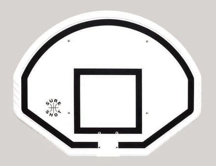 Sure Shot Basketball Euro Fan Backboard